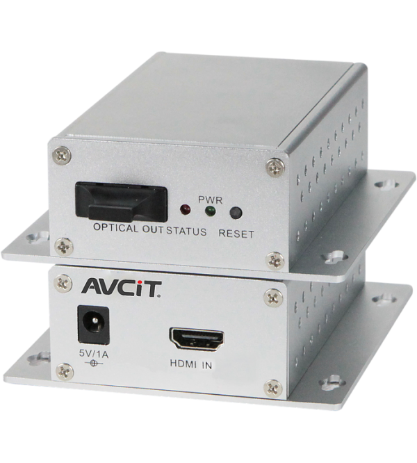 AVC-Optik Fiber Üzerinden HDMI Extender