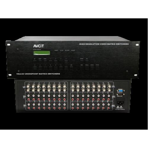 AVC-AV-16 series Professional Matrix Switcher - AV Series