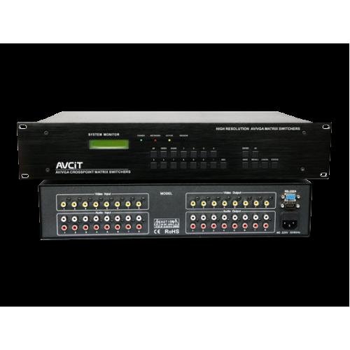 AVC-AV-8 Series Professional Matrix Switcher - AV Series