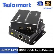Tesla 100M HDBaseT HDMI KVM + Audio Extender