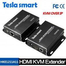 Tesla 120M HDMI KVM Over IP Extender w/ IR