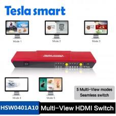 Tesla 4x1 HDMI Switch w / PAP