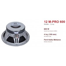 12 M-PRO 600